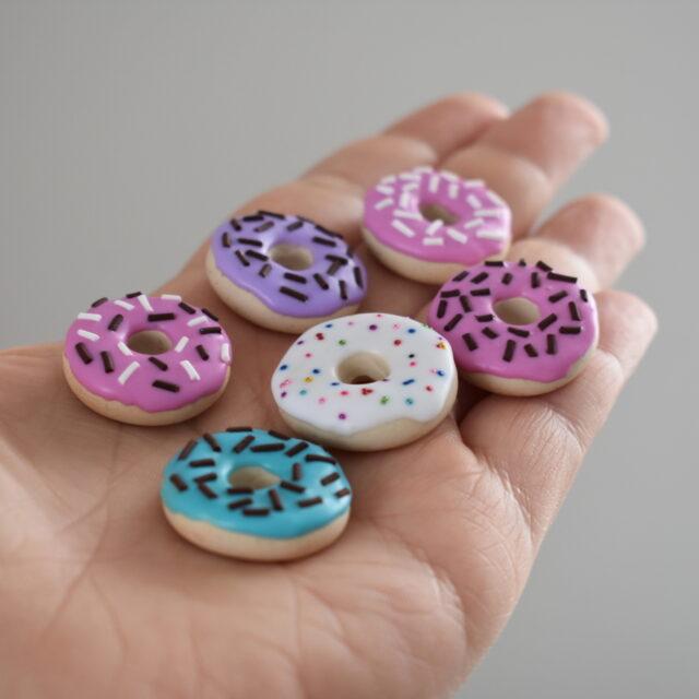 náhrdelník přívěšek donut - Belusi